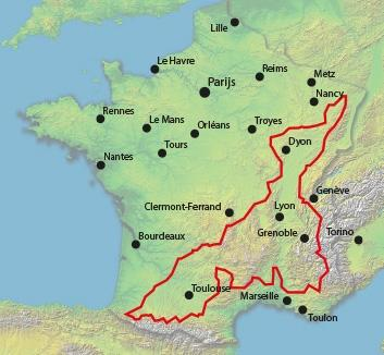 100 Cols Map